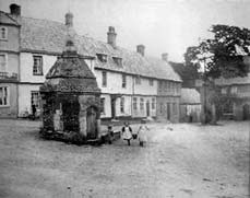 Image of the Old pump - Little Walsingham - 1900